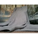 """New Huge Bespoke Linen Slate Grey EP 102""""W 113""""L Blackout Thermal Lined Curtains"""