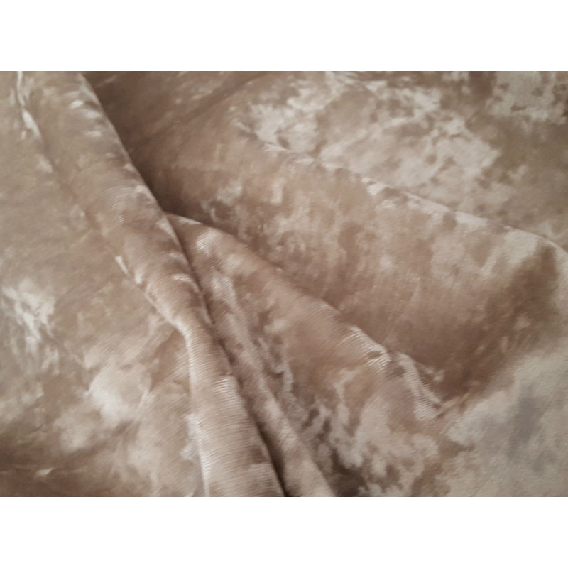 Stunning Heavy Champagne Crushed Velvet 111 Quot D 52 Quot W
